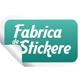 web design logo fabrica de stickere